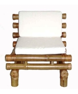 Bamboo Payang Zen Chair Low Profie-Thick Sturdy Constuction with Cushion - $200.00