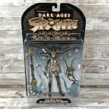 McFarlane Toys Spawn Dark Ages The Skull Queen Action Figure 1998 Series 11 - $18.76