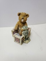 Boyd's Bearstone Baby Bear Binkie 2002 Limited Edition Retired Resin Fig... - $20.00