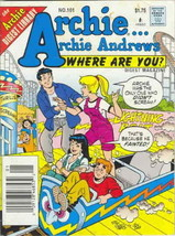 Archie…Archie Andrews, Where Are You? Digest Magazine #101 VF/NM; Archie | save - $9.25