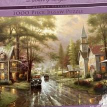Ceaco Thomas Kinkade Hometown Evening 1000 Piece Puzzle NEW - $20.75