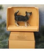 Dollhouse Pet Cat HOXZ572B Heidi Ott Standing Tail Up Black White  - $11.80