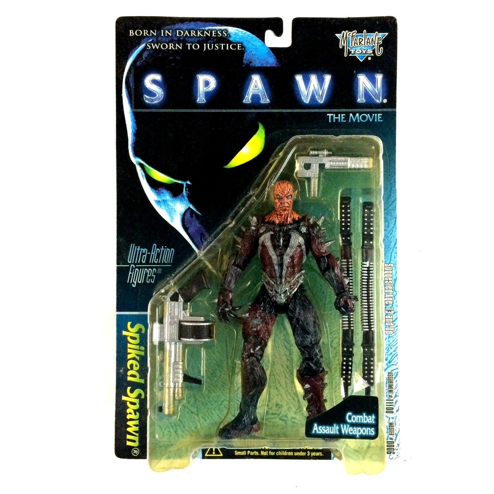 Spawn Movie Series Spiked Spawn McFarlane Toys Action Figure Sealed 1996