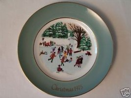 Avon Rare 1975 Christmas Collector Plate - $24.14