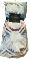 New Pendleton Fleece Sherpa Aztec Southwest Throw blanket Cream Multi - $75.61