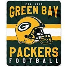 Green Bay Packers Blanket. This soft fleece throw blanket will keep you ... - $41.97