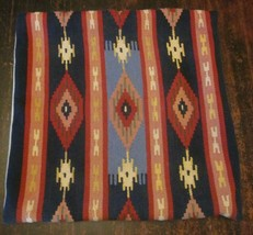 "Throw Pillows Set of 4 Covers 20"" Square Wool Kilim - $98.00"