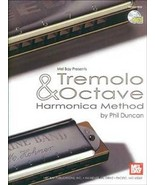 Tremelo and Octave Harmonica Method/Book w/CD S... - $12.95