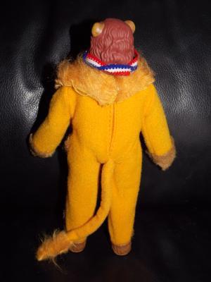 Vintage 1974 Mego Wizard Of Oz Cowardly Lion Doll Complete