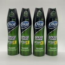(4) Dial For Men Speed Foam Body Wash ultra clean 6.8 oz  - $37.99