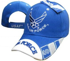 Us Air Force Officially Licensed With Wings Embroidered Usaf Hat Baseball Cap - $12.95