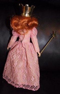 Vintage 1974 Mego Wizard Of Oz Glinda The Good Witch Doll Complete