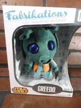 GREEDO Star Wars Funko Fabrikations Soft Sculpture NEW NIB - $8.40