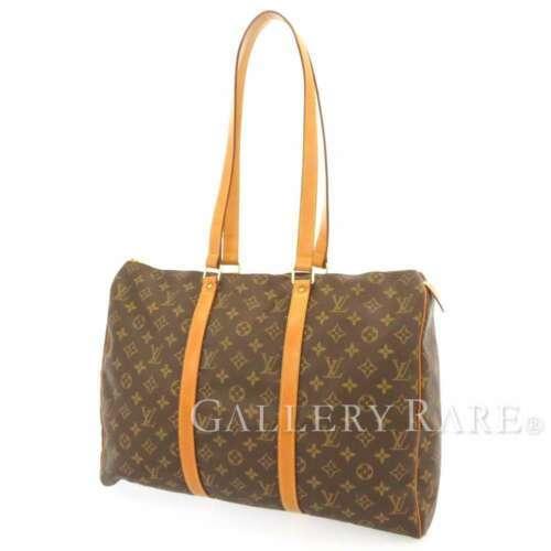 LOUIS VUITTON Flanerie 45 Monogram Canvas Shoulder Bag M51115 France Authentic