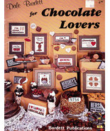 CROSS STITCH FOR CHOCOLATE LOVERS DALE BURDETT - $6.50