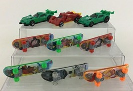 Young Justice League Toy Skateboards and Vehicles Cars 9pc Lot McDonalds - $12.42
