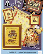 DAYS GONE BY COUNTED STITCHES DOLLS QUILT - $6.00