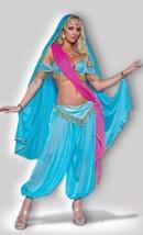 New tags XS incharacter Costume Genie Jewel East Jasmine Harem Exotic Da... - $69.99