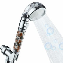 Zenbody Shower Head with Beads and On/Off,3-Setting Filtered Ionic High ... - $83.99
