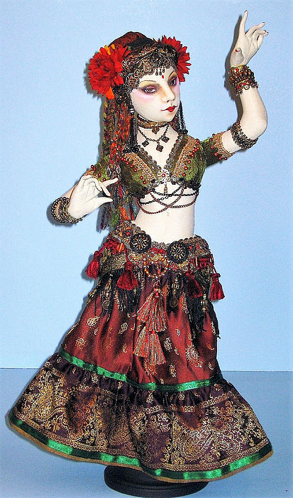 """/""""Fairy Godmother/"""" Cloth Doll Pattern By Arley Berryhill"""