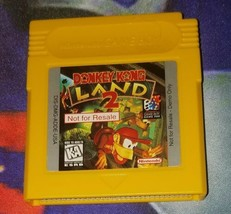 Donkey Kong Land 2 Not For Resale Nintendo Game Boy - $48.38