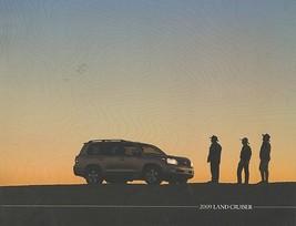 2009 Toyota LAND CRUISER sales brochure catalog US 09  - $12.00