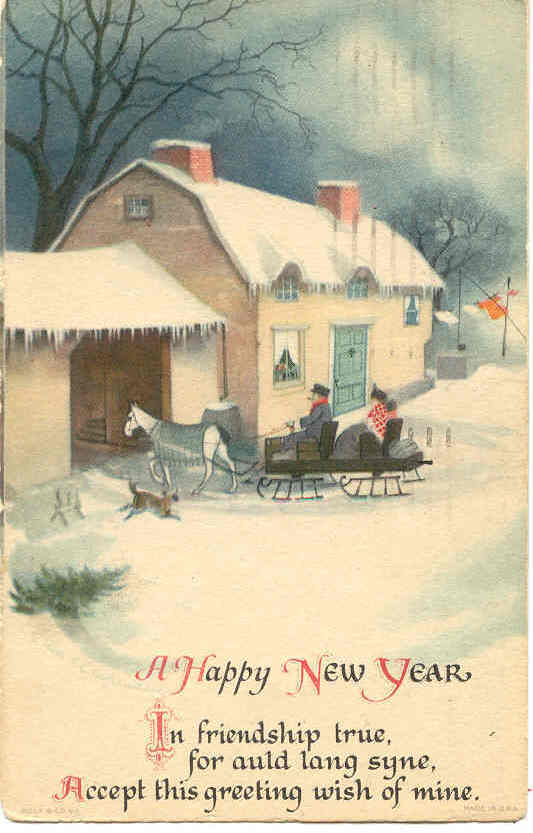 Primary image for A Happy New Year Ellen Clapsaddle 1924 Post Card