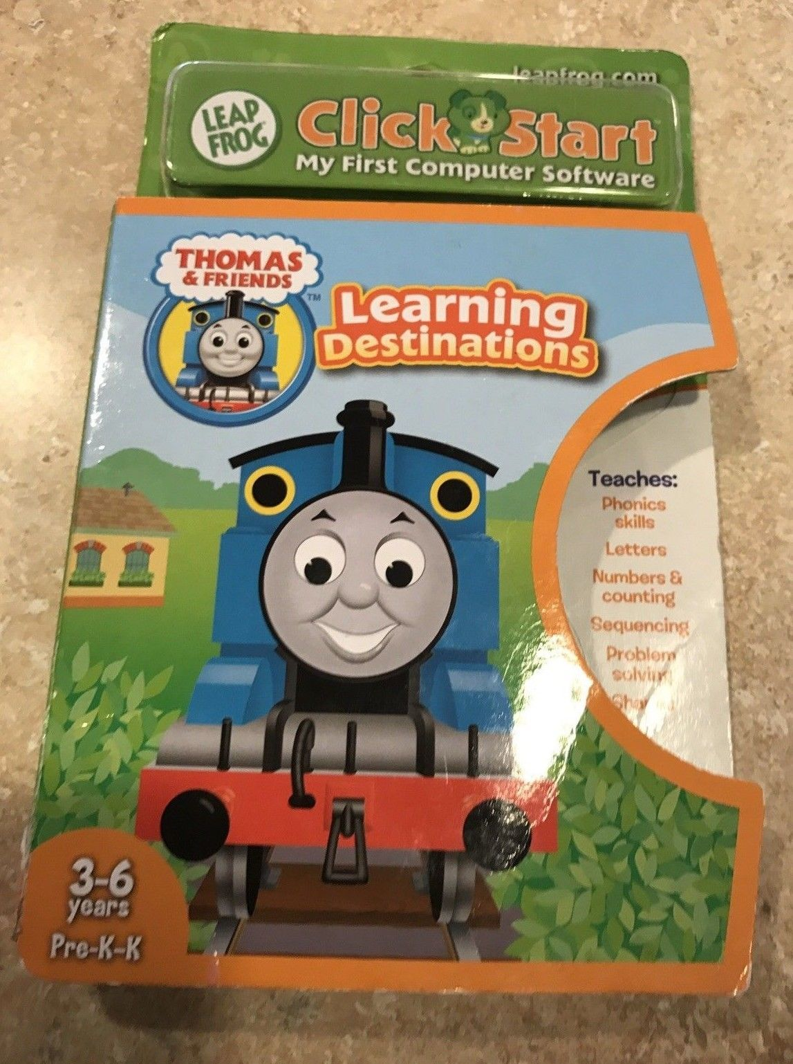Leapfrog Click start My First Educational Software Thomas & Friends Computer NEW - $5.25