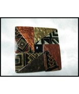 Beautiful Geometric Design Plastic Belt Buckle - $8.00