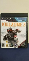 Killzone 3 (Sony Playstation PS3, 2011) Game with Promotional Display Game Case - $7.91
