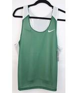 Nike women's top basketball green white sleeveless size S/P - $16.99
