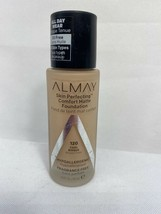 Almay 120 Cool Bisque Perfecting Comfort Matte Fragrance Free Foundation - $4.25
