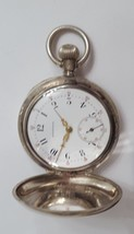 Special 1890' Longines Solid Sterling Silver Pocket Watch - $299.99