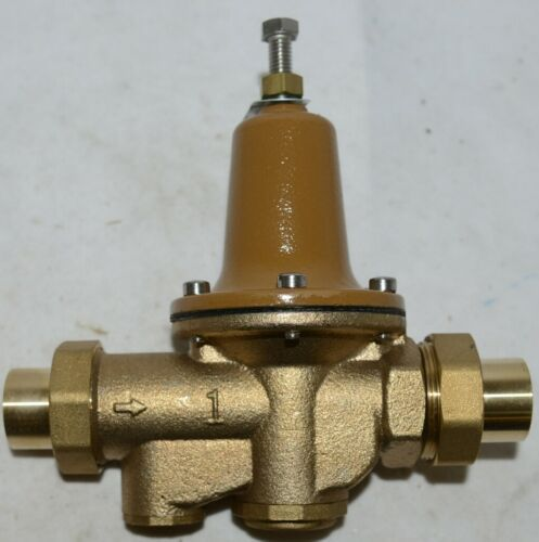 Watts 1 Inch Water Pressure Reducing Valve Integral Bypass 0009337