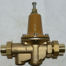 Watts 1 Inch Water Pressure Reducing Valve Integral Bypass 0009337 image 1