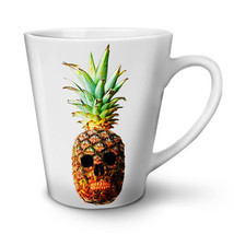 Pineapple Skull Face NEW White Tea Coffee Latte Mug 12 17 oz | Wellcoda - ₨1,250.58 INR+