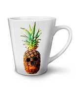 Pineapple Skull Face NEW White Tea Coffee Latte Mug 12 17 oz | Wellcoda - $326,22 MXN+