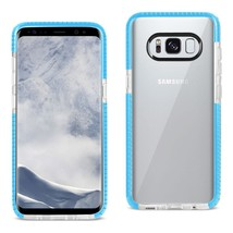 Reiko Samsung Galaxy S8- Sm Soft Transparent Tpu Case In Clear Blue - $7.80