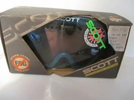 Scott Aircontrol System Turbo Flow Anti Fog A.C.S. Polyflex Frame Goggles - $25.73