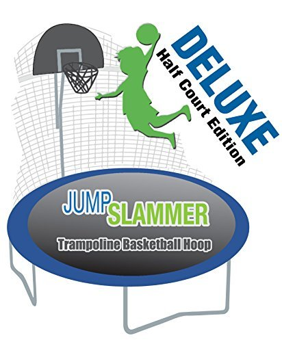 Trampoline Parts Center Coupon Code: Trampoline Pro Jump Slammer Half-Court Deluxe Edition