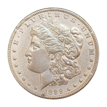 1899 P Morgan Silver Dollar - Choice BU / MS / UNC - $257.45