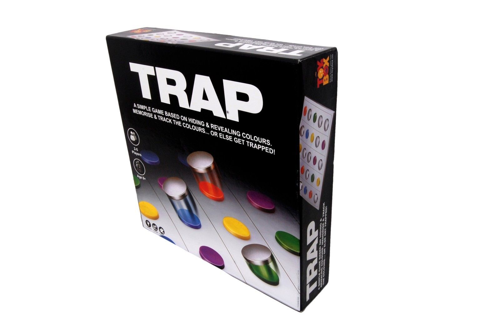 Trap Game 2-5 Players Age 8+ Toys Box Indoor image 3