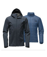 NEW MENS THE NORTH FACE THERMOBALL TRICLIMATE 3 IN 1 BLUE JACKET XL $299 - $197.99
