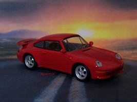 1993 - 1998 PORSCHE 911 RS 1/64 SCALE COLLECTIBLE REPLICA DIORAMA MODEL - $19.79