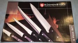 KUCHENSTOLZ Precision Crafted Cutlery 6 Piece Set NIB Knife Set w/ Carvi... - $12.00