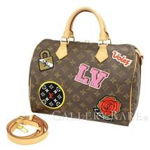 LOUIS VUITTON Speedy Bandouliere 30 Monogram Handbag M43989 Authentic 5314980 - $2,041.30