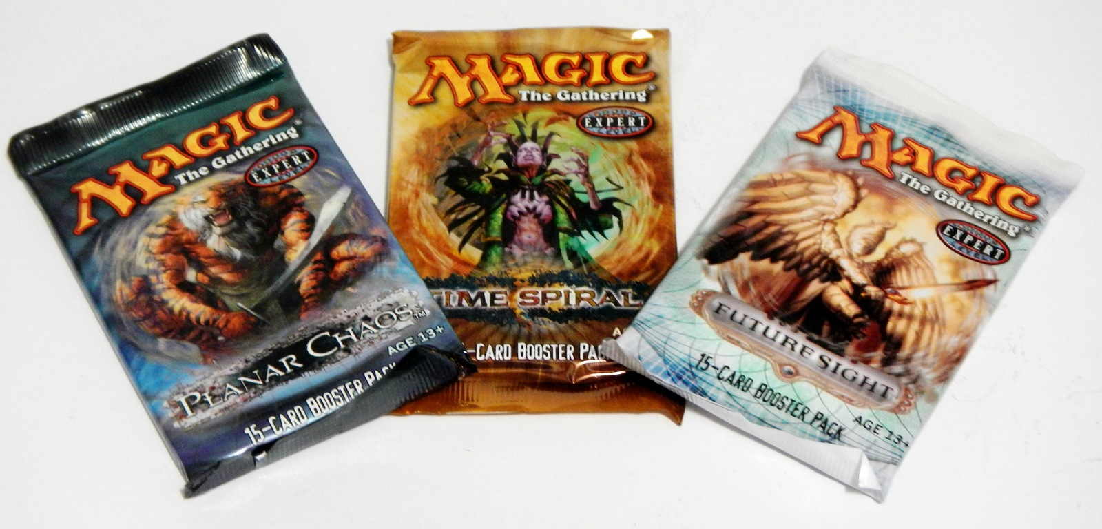Primary image for Magic The Gathering MTG 3x Booster Packs Planar Chaos Time Spiral Future Sight