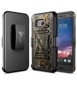HTC U11 Case, NageBee [Heavy Duty] Armor Shock Proof Dual Layer [Swivel... - $13.09