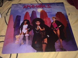 VTG Apollonia 6 Self Titled LP Record Vinyl 1984 WB 1-25108 Used - $16.63