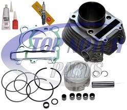 Yamaha moto-4 225 Yfm225 cilindro pistn Junta extremo superior kit 1986-... - $99.95